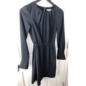 H&M 4 black long sleeve dress